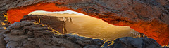 The Fire Down Below (Guy Schmickle) Tags: utah nationalpark arch canyonlandsnationalpark moab mesaarch sunriseorsunset washerwomanarch