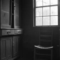 Bestilled (evanleavitt) Tags: life bw abandoned 6x6 film home rural ga georgia darkness minolta decay medium format residual autocord arista weathed