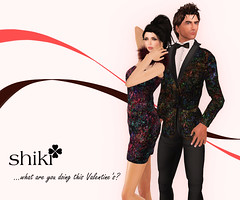 What Are You Doing This Valentine's? (VinnWong) Tags: life art fashion painting design 3d outfit clothing day dress avatar couples valentine clothes cocktail shiki tuxedo secondlife virtual second reality valentines wong couture shinichi mathy vinn