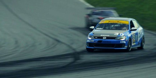VW GTI's & GLI's race at Mid-Ohio Sports Car Course