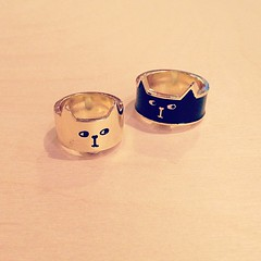 Lazy Oaf cat rings (the little drm store) Tags: cat ring lazy oaf
