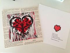 Valentine's from the wonderful Heather