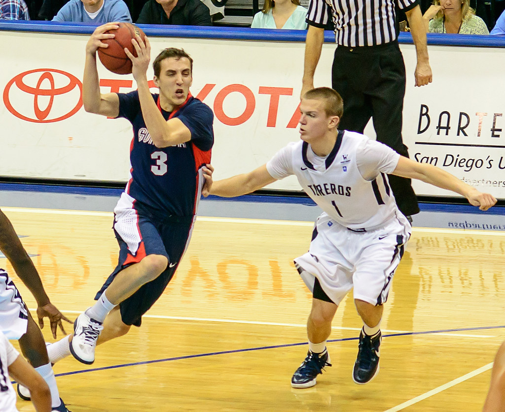 USD Toreros vs Gonzaga Bulldogs 02-02-13 by SD Dirk, on Flickr