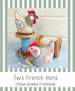 "Two French Hens • <a style=""font-size:0.8em;"" href=""https://www.flickr.com/photos/29905958@N04/8492275104/"" target=""_blank"">View on Flickr</a>"