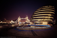 Tower Bridge & Mayor's Office At Night (Scott Cartwright Photography) Tags: uk longexposure nightphotography london towerbridge canon canoneos professionalphotographer canoncameras canon7d scottcartwright shrewsburyphotographer shropshirephotographer shrewburyfreelancephotographer scottcartwrightphotography shropshirefreelancephotographer shrewsburyprofessionalphotographer