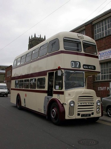 Leicester City Transport Leyland PD3A/East Lancs H41/33R 16 LJF16F