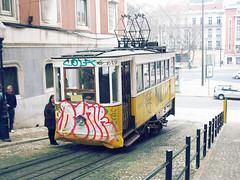 Elevador da Glria (SarahMagic) Tags: portugal lift lisboa lisbon elevator tram da elevador glria elevadordaglria