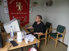 """Målselvtreffen 2007. Speaker Ole har full kontroll på det som skjer • <a style=""""font-size:0.8em;"""" href=""""http://www.flickr.com/photos/93335972@N07/8507309717/"""" target=""""_blank"""">View on Flickr</a>"""