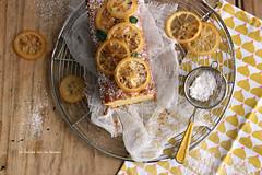 cakecitron103 (la cerise sur le gteau) Tags: food cooking yellow cake dessert baking lemon tea patisserie pastry gateau
