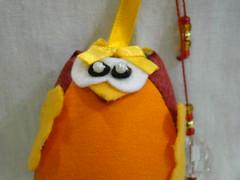 Chaveiro coruja (Artes, Panos e Pelúcias) Tags: fuxico coruja portachaves chaveiro