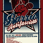 Barrio Antifascista Poster 2013 thumbnail