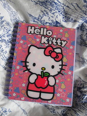 Hello Kitty Deluxe A5 Notebook (Jay Tilston) Tags: hello apple fruit notebook kitty stationery a5