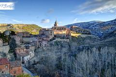 Albarracín (Paco Jareño Zafra) Tags: españa canon atardecer spain pueblo paisaje paco teruel hdr pueblos encanto albarracin 500d aragón españoles jareño pacosrulz