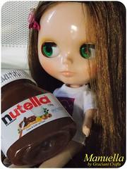 Manu consegui o pote de Nutella <3
