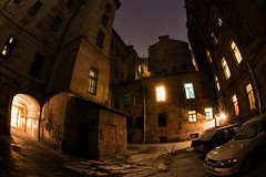 St.Petersburg Backyards (filchist) Tags: city architecture buildings russia details petersburg fisheye backyards courtyards spb      2013    fetails dvorkolodets  11