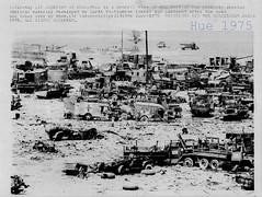 Vietnam War - 1975 US Force Equipment Material Destroyed - Press Photo