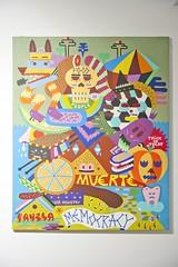 Norte Sur,Zosen. Acrílico sobre lienzo,81x100cm.2012