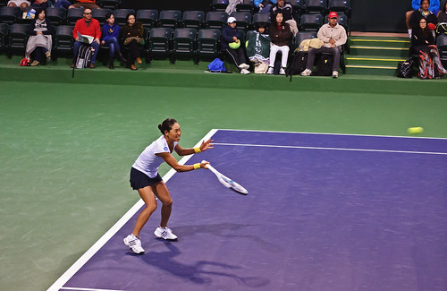 Kimiko Date - Kimiko Date-Krumm at BNP Paribas Open, 9 March 2013