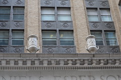 Esperson Buildings - stucco details (elnina999) Tags: old city sky urban panorama abstract streets detail brick art texture motif stone wall closeup skyline architecture modern night facade train vintage buildings photography design construction ancient nikon mainstreet energy downtown day pattern exterior skyscrapers artistic metro dusk cityhall antique background library tx grunge border cement masonry perspective houston style surface structure dirty historic transportation frame photowalk courthouse material aged rough ornate pillars built stucco chasebuilding kirbylofts
