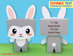 Printable Kawaii Boy Bunny Rabbit Gift Box With Editable Text Features - Personalize Yourself (Cutezville Printables) Tags: pink flowers blue boy cute rabbit bunny green girl kids digital yard butterfly garden paper easter print grey design diy day drawing text lawn butterflies craft card gift elements kawaii download eggs pdf treat create etsy build favor greeting making development bows template edit hunt papermaking personalize giftbag giftbox printables printable cutesville changeable editable personalise papergoods treatbox cuteideas paperelements cutezville