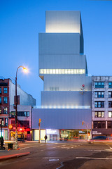 New Museum of Contemporary Art - SANAA (Scott Norsworthy) Tags: new york city art museum architecture contemporary cube bowery sanaa stacked nishizawa sejima ryue