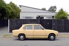 1973 Triumph Toledo (stephen trinder) Tags: new christchurch cars beige zealand toledo nz triumph parked kerb 1973