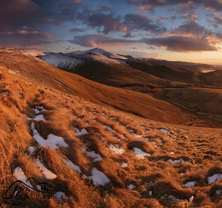 Skiddaw from Longlands Fell