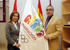 Miriam Rabaneda, alcaldesa de Pinto y Alejandr...