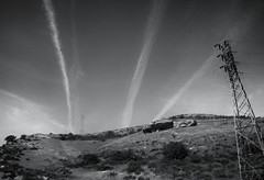 Cloud Streaks Over The Hill ( edwardconde) Tags: ipad bodycap olympusepl1 editedontheipad snapseed edwardconde73 photographersontumblr olympusbcl
