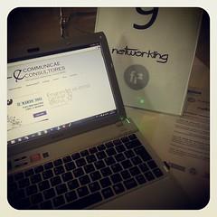 Tarde de consultoría de TIC en el networking de #Fi2 #TFinnova con @ecommunicae Consultores