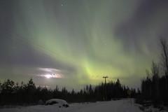 Aurora borealis 18.03 2013 (Maggan L) Tags: winter night finland long exposure aurora borealis malax