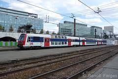 SNCF Z 8911/8912 + Z 205xx/205xx - 21.08.2009 Paris-Austerlitz (Benot Farges) Tags: sncf z8800