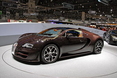 Bugatti Veyron Grand Sport Vitesse (Genve1) Tags: auto show car switzerland geneva rollsroyce autoshow automotive international salon rolls premiere bugatti genve lamborghini royce bentley supercars veyron pagani spotter