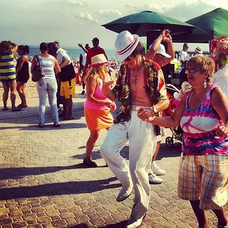 Salsa Dance on the Boardwalk of...