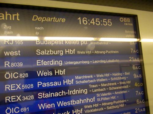 Linz to Salzburg