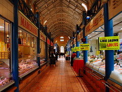 the covered market (mujepa) Tags: market perspective stall fishes march fishmonger poissons coveredmarket poissonnerie marchcouvert tal mygearandme mygearandmepremium photographyforrecreation