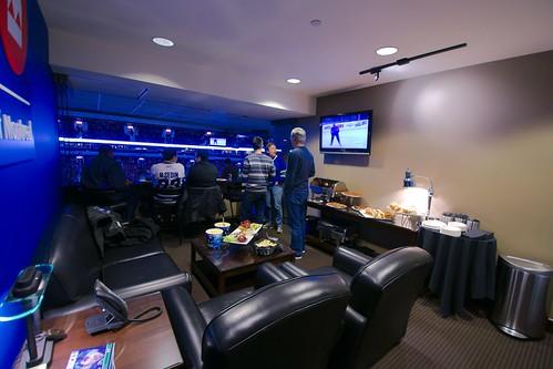 Loge VIP au Rogers Arena