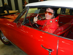 Yes, Elvis was still in the building and driving! (rockymtc) Tags: rmtc islandgrovepark rockymountainthunderbirdclub