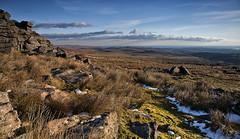 over the hills and far away (yadrad) Tags: southwest landscape devon tor dartmoor dartmoornationalpark