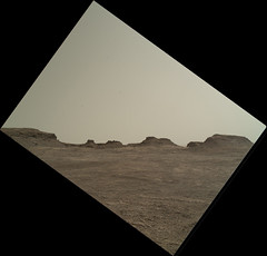 Rugged Martian Landscape (sjrankin) Tags: 24july2016 edited nasa mars msl curiosity galecrater 1401mh0003250050502671e01dxxx rugged terrain landscape