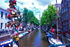 Amsterdam in Love (Vainsang) Tags: amsterdam staalmeesterbrug groenbrugwal lock cadenas pont canal