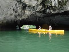 DSCF4792 (vbolinius) Tags: 2016 annike cave gerard halongbay islands kayak ocean travel vietnam