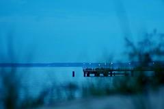 Beach in blue (horschte68) Tags: beach blue night nightshot 212715 20160710 koserow inselusedom usedom isleusedom balticsea ostsee germany deutschland juli 2016 strand panorama landschaft landscape scenery panor bluehour somm summer perspektive perspective zusammensetzung zusammenstellung holiday urlaub ferien vacation wasser himmel meer twilight tair11a135mmf56 tair11a135mm28 manualfocus primelens