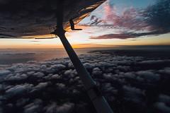 Casual Monday (vvnnie) Tags: landscape ocean beach clouds flying flight sun aerial aviation travel avgeek aeroplane avion wing cessna 172 sky socal california