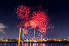 - Firework at the Dadaocheng Wharf (basaza) Tags: 30d canon 1635    taipei