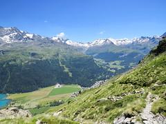 Abstieg vom Lej da la Tscheppa, 20.7.16 (ritsch48) Tags: engadin sils lejdalatscheppa silvaplanersee fextal valfex