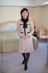 Office uniform 1511_2_01 (akichan980) Tags: crossdressing crossdresser  officelady businesswoman ol   uniform   japanese