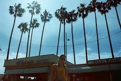 (Fabrizio Milazzo) Tags: girl beach palms frenchriviera california roadtrip travel portrait landscape summer nature cannes sky film 35mm analog lomography fabriziomilazzo youth young
