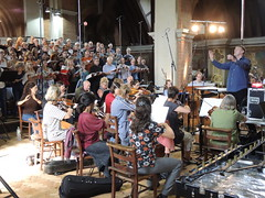 DSCN4373. Crouch End Festival Chorus recording session at St Jude-on-the Hill, London. 3rd September 2016. J S Bach St John Passion in English. Chandos CHSA5183 (Paul Ealing 2011) Tags: crouch end festival chorus 3 september 2016 cefc st saint john passion judes church j s bach david temple conductor judeonthehill camerata recording chandos london english version chsa5183 new novello choral edition translation neil jenkins