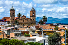 Zipaquira, Colombia (Ben Perek Photography) Tags: zipaquir colombia zipaquira cundinamarca bogot bogota south latin america latina del sur salt mine cathedral colonial town mineria sal cloud clouds church